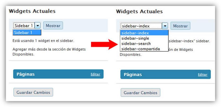 Crear dos o más sidebars en WordPress | Lluís Ulzurrun de Asanza i ...