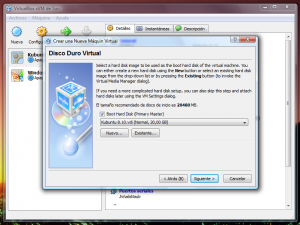 VirtualBox - Paso 3