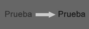 Texto Hundido: Antes y Después