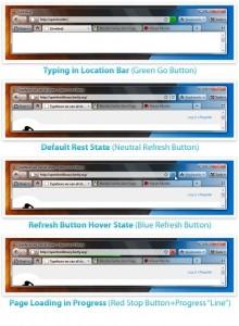 Mockup Firefox 4