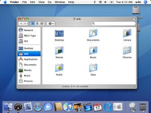 Mac OS X - 10.4