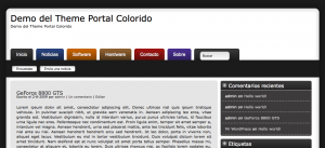 Captura de Portal Colorido