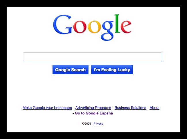 """El nuevo """"look"""" de Google"""