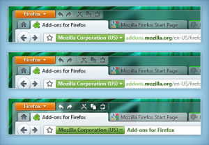 Iconos de edición de Firefox 4 en Windows