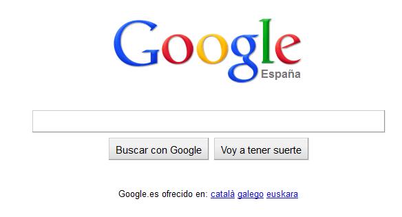 Nuevo diseño de Google