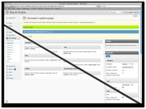 Guardando contenido en WP Carousel 0.5