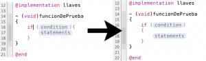 Xcode: Antes y después