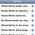 Lista de hechos de Chuck Facts