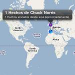 Mapa de Chuck Facts