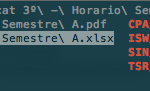 Browsing ZSH auto-completion results